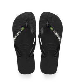 havaianas Brasil Logo Sandały czarny